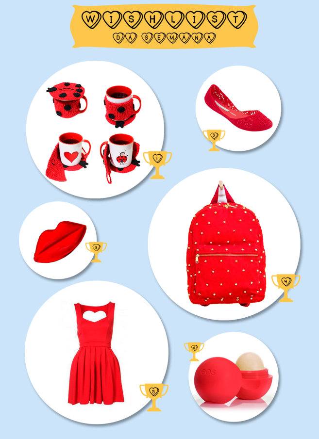 wishlist red